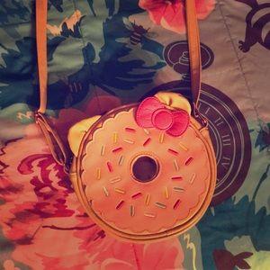 Hello Kitty Donut crossbody purse